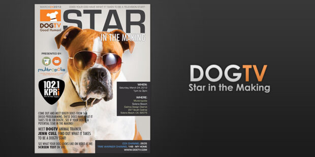 DogTV Magazine Advertisement