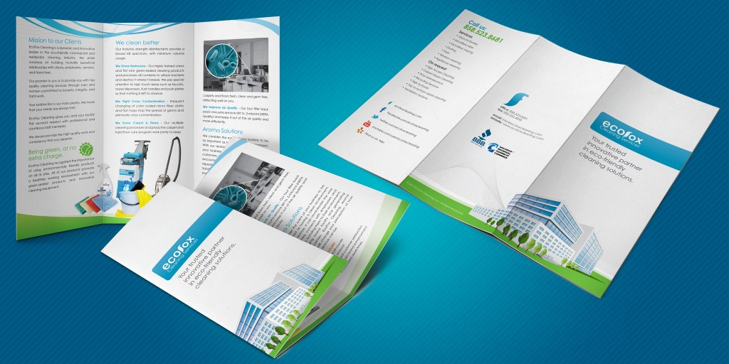 Ecofox Cleaning Services Brochure  Marco Sebastian  Freelance Web