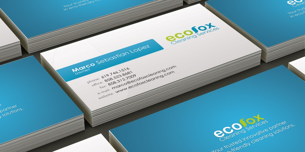 Ecofox cleaning business card marco sebastian freelance web ecofox cleaning business card colourmoves