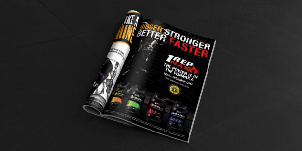 One Rep Max Ad for Launch Product Line
