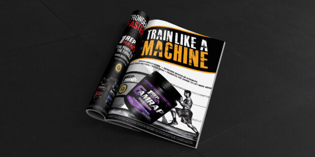 One Rep Max Ad for Product Amrap