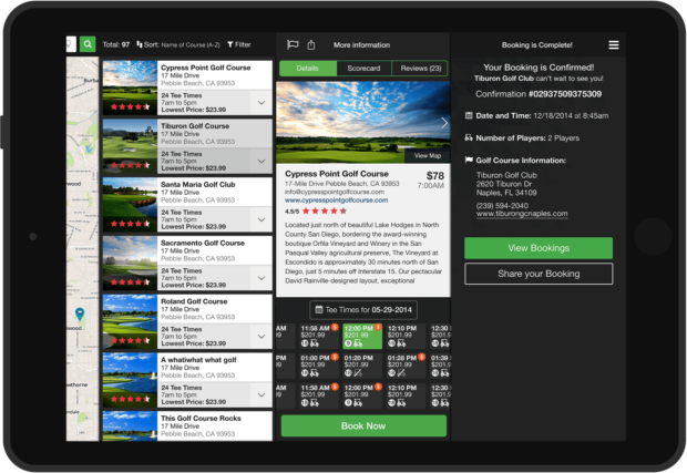 Portal Results with Detail View and Confirmation panels, all easily accessible.