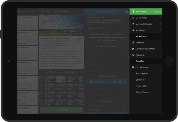 Side Drawer that stays consistent via the all mobile apps and desktop versions of the portal.